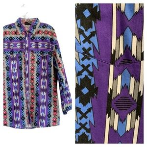 WESTERN SIGNATURES by EdsWest Aztec Print Shirt